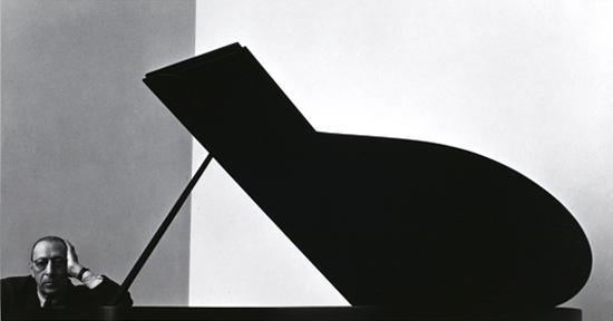 021 -  Grandes retratos - Arnold Newman - Stravinsky (1946)